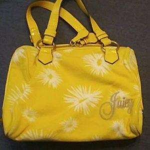 Juicy Couture daisy handbag and wallet